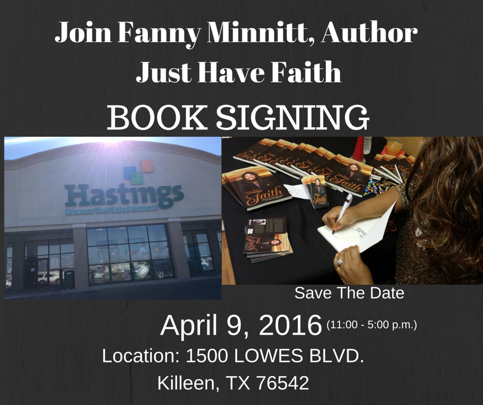 Book Signing @ Hastings Bookstore in Killeen, TX